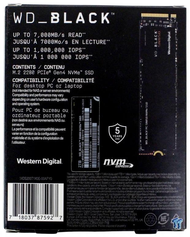 WD Black SN850 2TB NVMe M.2 SSD Review 03 | TweakTown.com