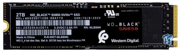 WD Black SN850 2TB NVMe M.2 SSD Review 04 | TweakTown.com