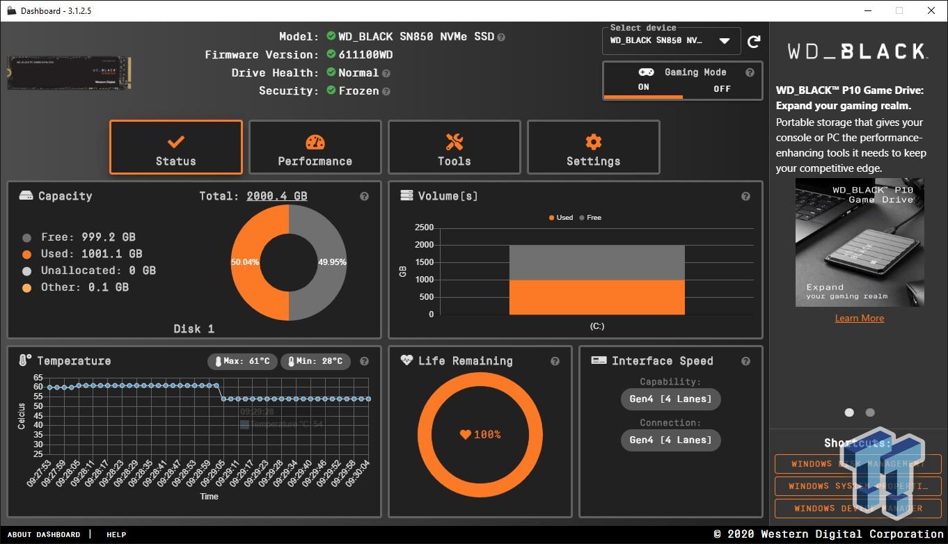 WD Black SN850 2TB NVMe M.2 SSD Review 06 | TweakTown.com