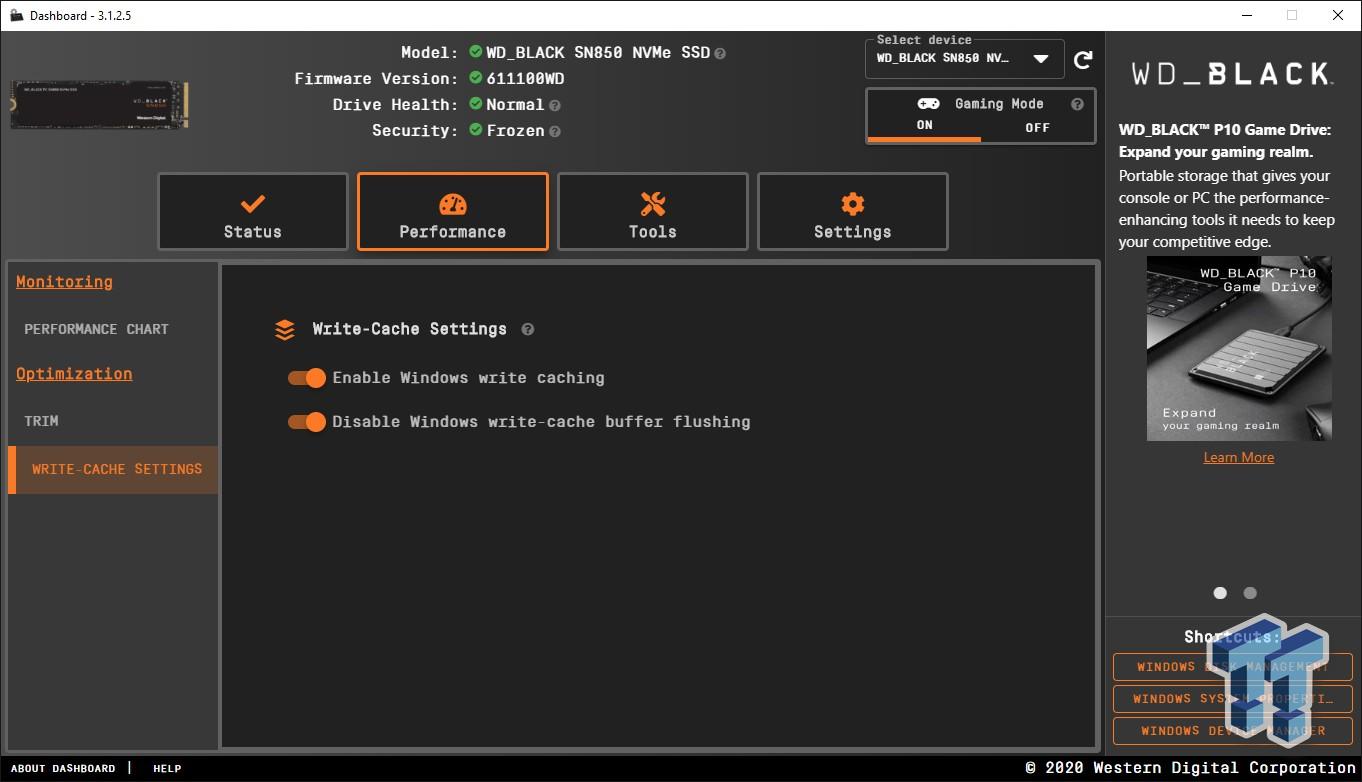 WD Black SN850 2TB NVMe M.2 SSD Review 07 | TweakTown.com