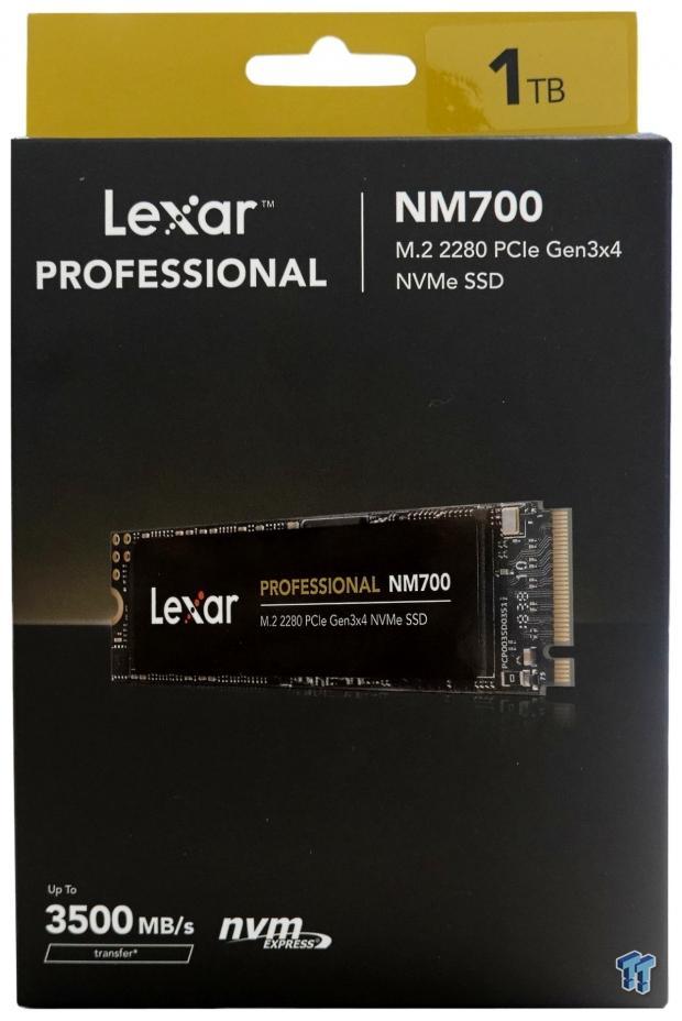 Revisión de Lexar Professional NM700 1TB M.2 SSD 02    TweakTown.com