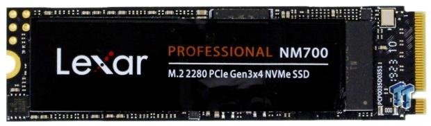Revisión 03 de Lexar Professional NM700 1TB M.2 SSD    TweakTown.com