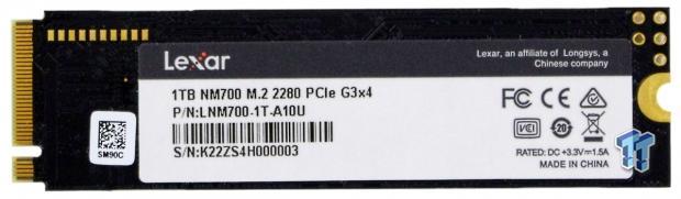 Revisión 04 de Lexar Professional NM700 1TB M.2 SSD |  TweakTown.com