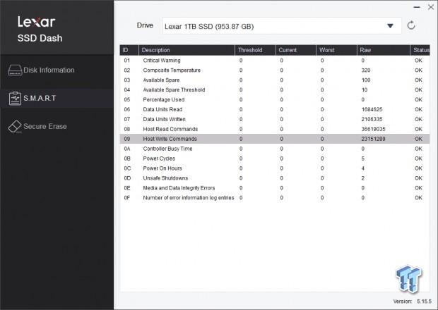 Revisión de Lexar Professional NM700 1TB M.2 SSD 06 |  TweakTown.com