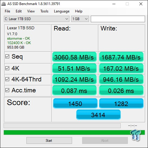Revisión de Lexar Professional NM700 1TB M.2 SSD 19 |  TweakTown.com