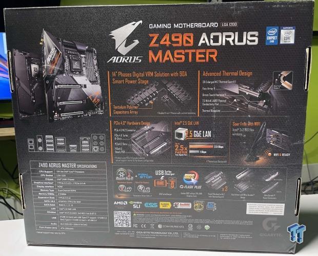 GIGABYTE Z490 AORUS Master Motherboard Review 06   TweakTown.com