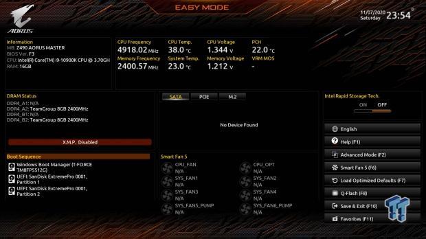 GIGABYTE Z490 AORUS Master Motherboard Review 50   TweakTown.com
