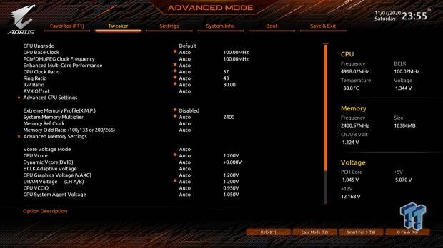 GIGABYTE Z490 AORUS Master Motherboard Review 51   TweakTown.com