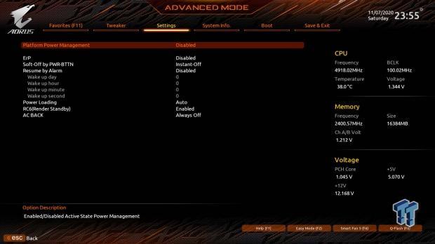 GIGABYTE Z490 AORUS Master Motherboard Review 53   TweakTown.com