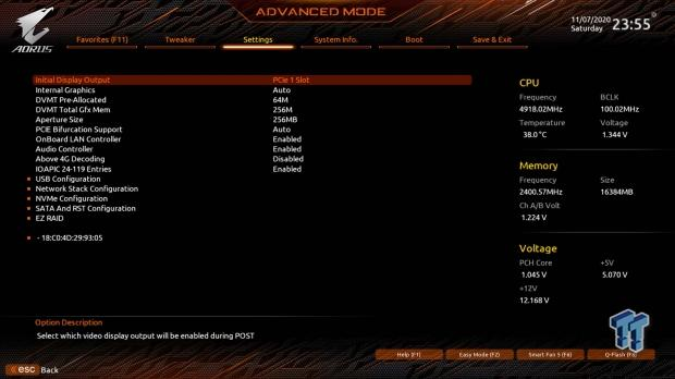 GIGABYTE Z490 AORUS Master Motherboard Review 54   TweakTown.com