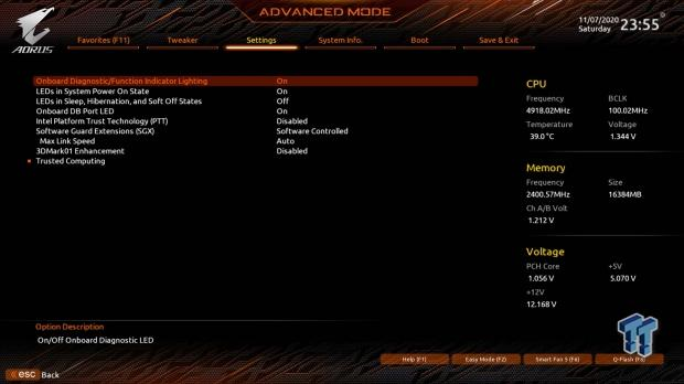 GIGABYTE Z490 AORUS Master Motherboard Review 55   TweakTown.com