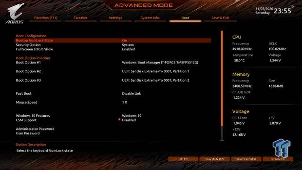 GIGABYTE Z490 AORUS Master Motherboard Review 58   TweakTown.com
