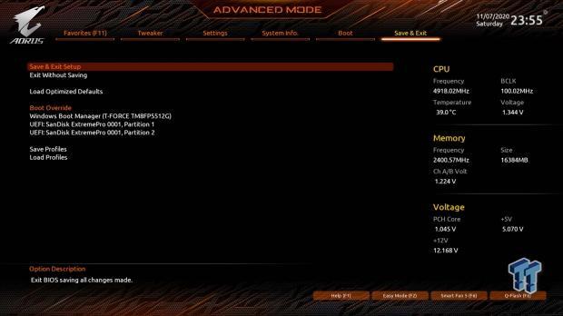 GIGABYTE Z490 AORUS Master Motherboard Review 59   TweakTown.com