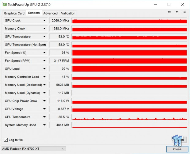 AMD Radeon RX 6700 XT in Crypto Mining: ETH Mining @ 120W tweaked 104 | TweakTown.com