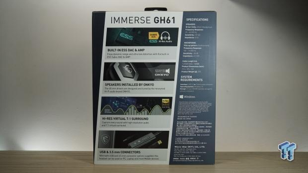 Recensione delle cuffie da gioco MSI Immerse GH61 02 |  TweakTown.com