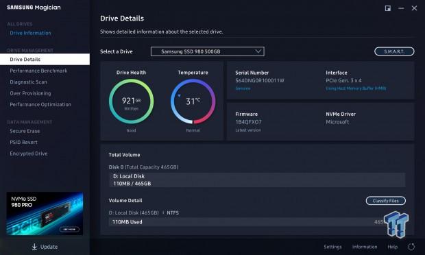 Revisión de Samsung 980500GB NVMe SSD 15 |  TweakTown.com
