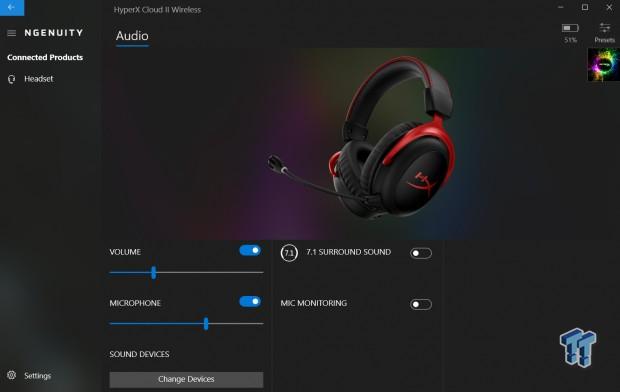 HyperX Cloud II Wireless 7.1 Gaming Headset Review 100   TweakTown.com
