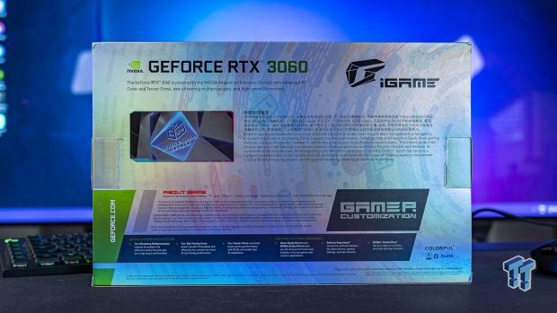 COLORFUL iGame GeForce RTX 3060 Bilibili E-sports Edition OC Review 502 | TweakTown.com