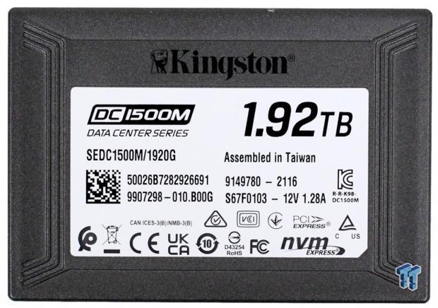 Kingston DC1500M 1.92TB Data Center Enterprise SSD Review 02 | TweakTown.com