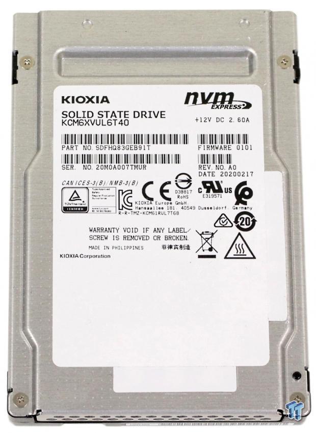 Kioxia CM6-V 6.4TB Enterprise SSD Review 02   TweakTown.com