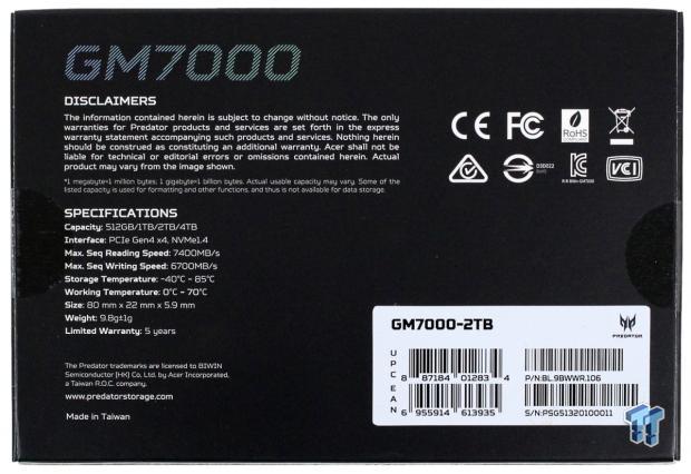 Teste do Acer Predator GM7000 2TB SSD 04 |  TweakTown.com