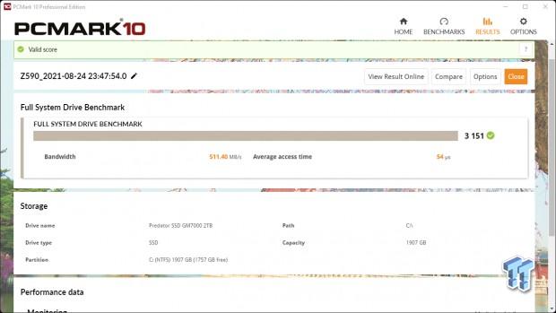 Teste do Acer Predator GM7000 2TB SSD 25 |  TweakTown.com