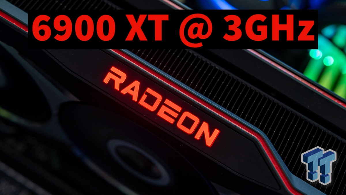 AMD Radeon RX 6900 XT: max GPU clock of 3GHz, should stomp on RTX 3090 - TweakTown