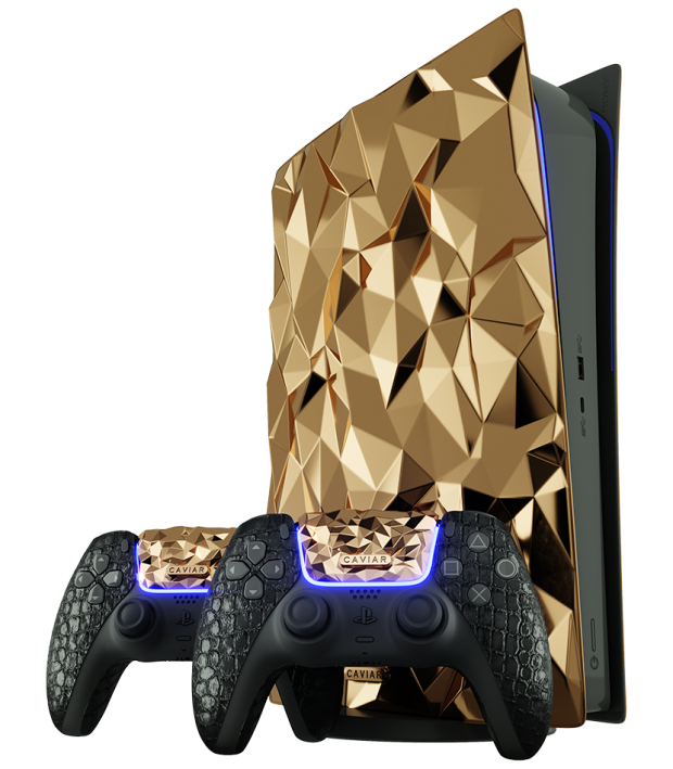 Check out this PS5 made from solid GOLD that costs close to  million 01 | TweakTown.com