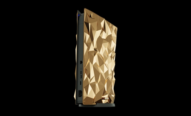 Check out this PS5 made from solid GOLD that costs close to $1 million 04 | TweakTown.com