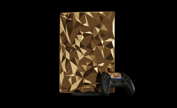 Check out this PS5 made from solid GOLD that costs close to $1 million 06 | TweakTown.com