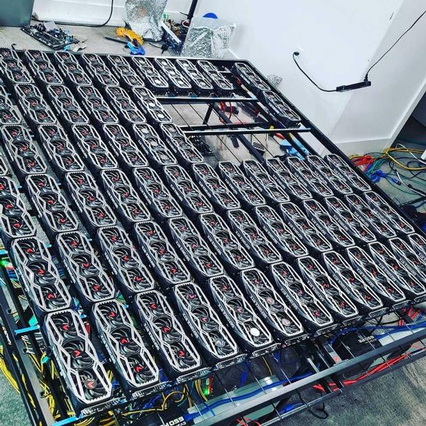 This 78 x GeForce RTX 3080 crypto mining rig makes 8,000 per year 01 | TweakTown.com