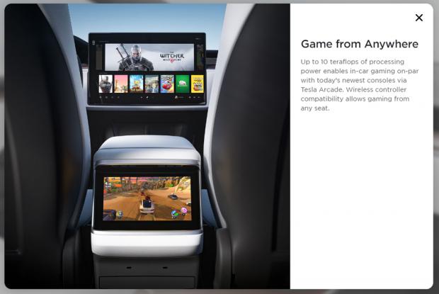 Tesla's new Model S refresh plays The Witcher 3 233 | TweakTown.com
