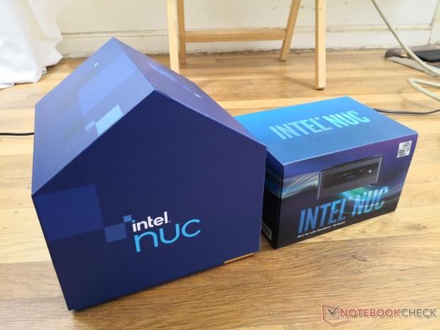 Intel's new NUC 11 PC review unit comes in unique house-shaped box 01 | TweakTown.com