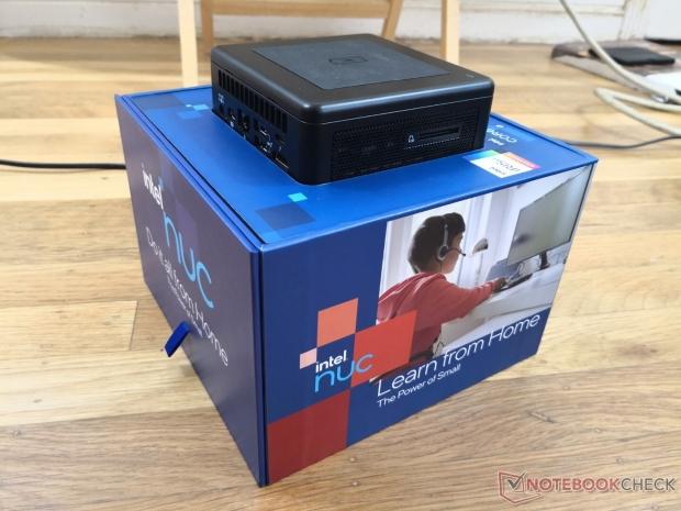 Intel's new NUC 11 PC review unit comes in unique house-shaped box 02 | TweakTown.com
