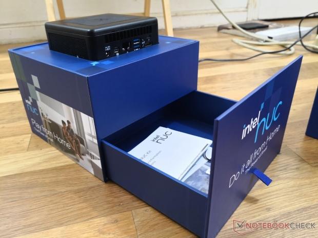 Intel's new NUC 11 PC review unit comes in unique house-shaped box 03 | TweakTown.com