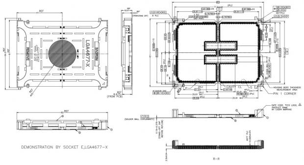 Intel LGA4677-X socket teased, next-gen Sapphire Rapids CPU spotted 06 | TweakTown.com