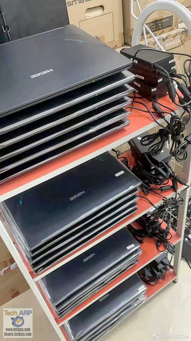 This 20 x GeForce RTX 30 gaming laptop crypto farm makes $74K per year 03 | TweakTown.com