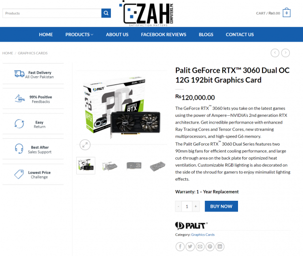 Scalpers selling unreleased GeForce RTX 3060 for $750, costs $330 02 | TweakTown.com