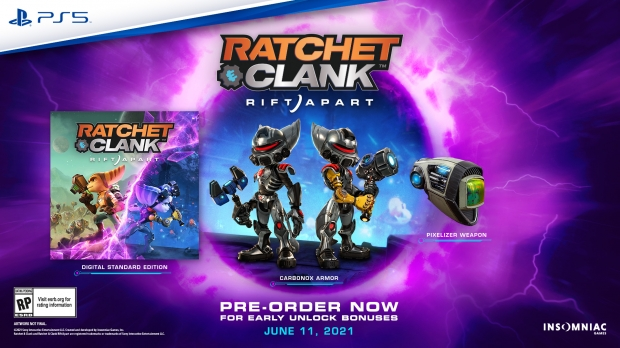 Ratchet & Clank: Rift Apart release announced: June 11 for the PS5 04 | TweakTown.com
