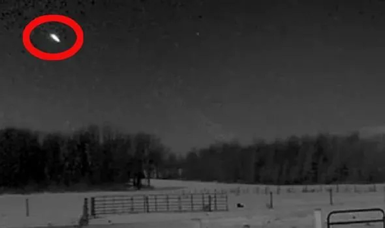 Watch this large meteor that was 'too close' burst into a fireball