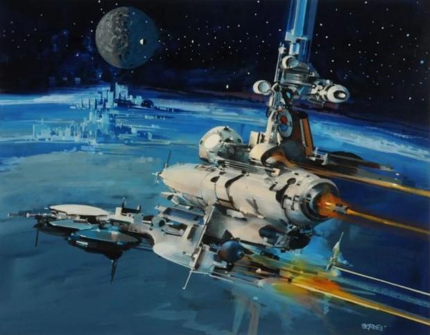 Утечка Starfield Image заимствует странный научно-фантастический стиль Джона Берки 70 |  TweakTown.com