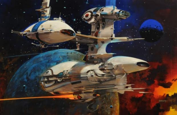 Утечка изображения Starfield заимствована из странного научно-фантастического стиля Джона Берка 73 |  TweakTown.com