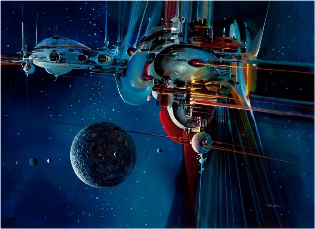 Утечка изображения Starfield заимствует странный научно-фантастический стиль Джона Берка | 74 |  TweakTown.com