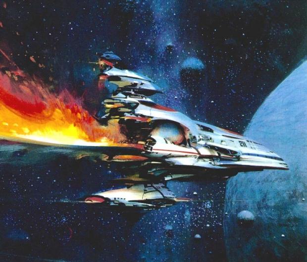 Утечка изображения Starfield заимствует странный научно-фантастический стиль Джона Берка 76 |  TweakTown.com