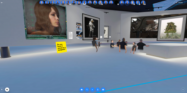Spatial is now hosting NFT galleries for artists to display their work 01 | TweakTown.com