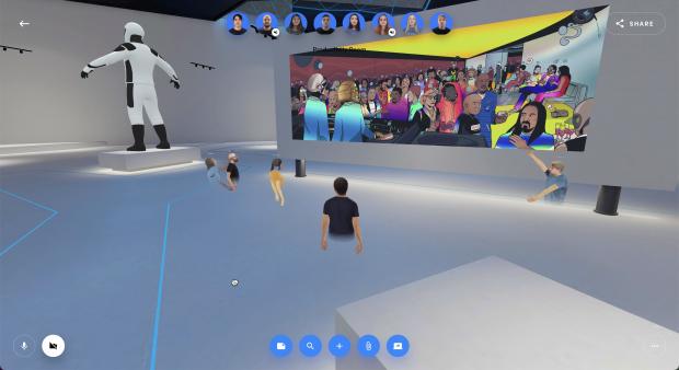 Spatial is now hosting NFT galleries for artists to display their work 02 | TweakTown.com