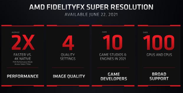 AMD anuncia su competidor DLSS: FidelityFX Super Resolution (FSR) 09 |  TweakTown.com