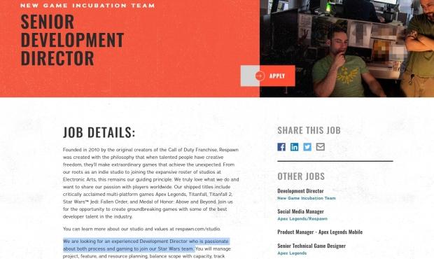 Respawn puede estar trabajando en varios proyectos de Star Wars a la vez 24 |  TweakTown.com