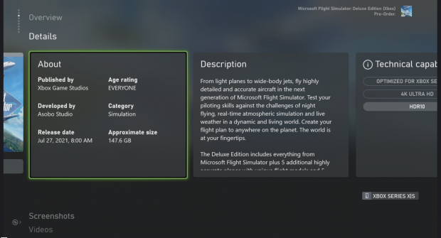 Microsoft Flight Simulator fait 97 Go sur les consoles Xbox Series X 34 |  TweakTown.com