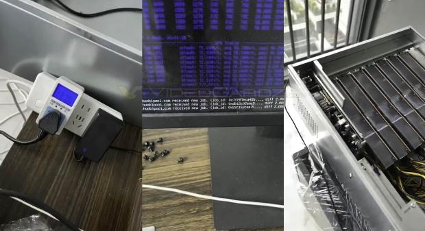 AMD/XFX BC-160 crypto GPU teased: 8GB HBM2, 150W, 72MH/s mining ETH 02 | TweakTown.com